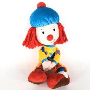 Disney JoJos Circus Clown Plush Yarn Hair Magnetic
